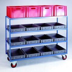 Container Shelf Trolleys Vegetable Shop, Vegetable Stand, Shop Shelving, Display Shelves, Crate Storage, Tool Storage, Farmhouse Furniture, Farmhouse Kitchen Decor, Rack Design