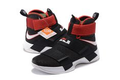 huge discount c4c1f c4ab7 March Shoes 2017 Nike-LeBron-Soldier-10-X-Bred-Black