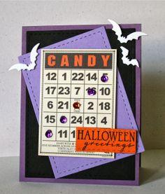 12 Kits Halloween Card