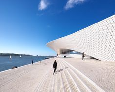 AL_A sculpts the MAAT museum along the tagus river in lisbon