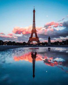 Paris is always a good idea - France - Eiffel Tower - Eiffelturm - Tour d'Eiffel - PARIS - City - Sight Paris Photography, Creative Photography, Nature Photography, Eiffel Tower Photography, Portrait Photography, Photography Backdrops, Photography Ideas, Photography Reflector, City Photography