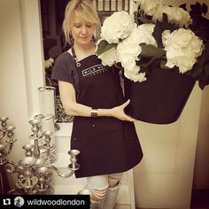 So happy to make aprons for @wildwoodlondon! You guys are brilliant. Thanks for sharing the love