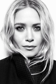 mary-kate olsen // love her hair and makeup