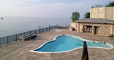 Gorgeous sunsets at this Lake Michigan 4 BR/4BA home with pool