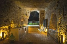 Domus Civita gives a whole different meaning to 'living in a cave'.
