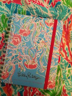 Lilly Pulitzer Agenda in Jellies Be Jammin, via kelseyy_23 Available at Petals and Postings in Kalamazoo and Sassy Extras online. We love Lilly P!