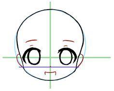 Front Facing Chibi Face Base Google Search Chibi Drawings
