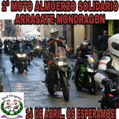 2° Moto-Almuerzo Solidario Red Dragons, en Mondragón, Guipúzcoa