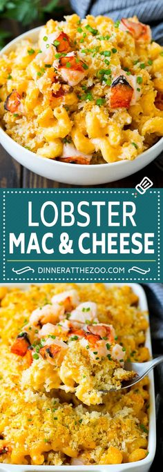 Lobster Mac and Cheese Lobster Mac and Cheese Recipe Lobster Macaroni and Cheese Baked Mac and Cheese Lobster Mac N Cheese Recipe, Seafood Mac And Cheese, Cheesy Mac And Cheese, Baked Mac And Cheese Recipe, Best Mac And Cheese, Mac And Cheese Homemade, Lobster Recipes, Macaroni Cheese, Seafood Dishes