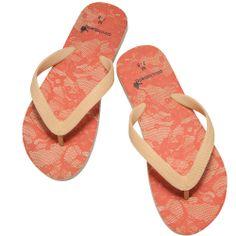 Jazz up your summer wardrobe with Cicciabella's crimson flip flops! See at http://www.bethbingham.com/ #summer #style #fashion #fashionista