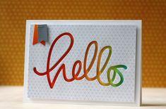 SSS~July Card Kit & Big Hello die