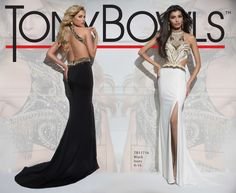 Tony Bowls Style TB11716 - Ivory/Gold In store