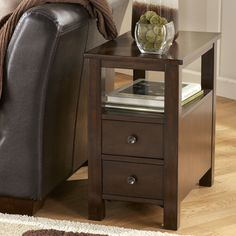 Signature Design by Ashley T477-7 Marion Chairside End Table at ATG Stores