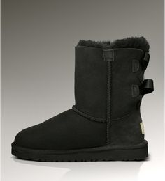 UGG Bailey Bow Black 3280 Boots sale $65.90