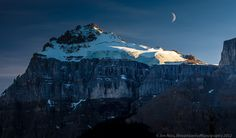 Moonrise Over Icefields Parkway!!! (Part I, Day 1) by Jim Ross on 500px