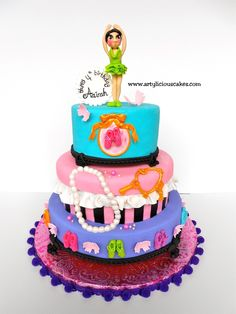 ballerina — Children's Birthday Cakes