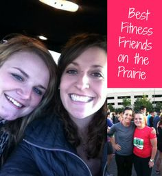 How lucky to inherit a best fit friend who keeps you motivated! How did you meet your BFF?