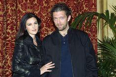 Monica Bellucci et Vincent Cassel à la première à Rome de Agents Secrets en 2004