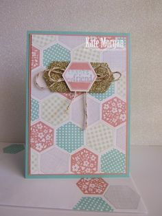 Stampin' Up! Six-sided Sampler Patchwork