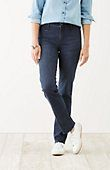 petite Smooth-Fit straight-leg jeans | J.Jill