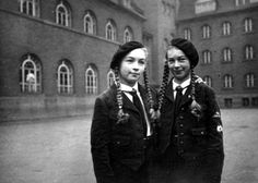 (C) Mourning the Ancient German Girls, German Women, Raza Aria, Ww2 Women, Nazi Propaganda, German People, Belly Dance Outfit, Ww2 History, The Third Reich