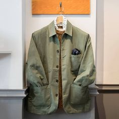 """788 Beğenme, 6 Yorum - Instagram'da @universal_works: """"Bakers Jacket in largo twill at our Lambs Conduit Street store. - On Thursday 7th December, there…"""""""