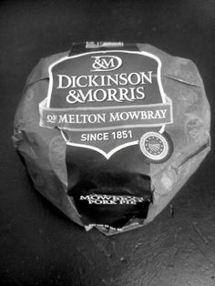 A classic Dickinson & Morris we received in the office! Melton Mowbray Pork Pie, Snack Recipes, Snacks, Lunch Box, Chips, Classic, Food, Snack Mix Recipes, Derby