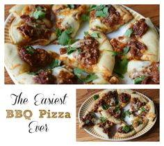 Easiest BBQ Pizza Ev