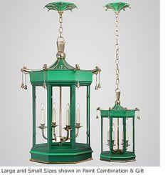 Pagoda Pendant Lantern Chinoiserie Chic: Chinoiserie Lighting