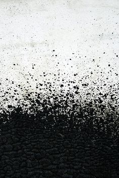 Exploded | Tar sprayed on a wall | photoalternative | Flickr
