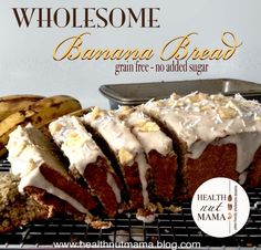 Health Nut Mama | Grain-Free Fruit & Nut Desserts, Treats & Baked Goods