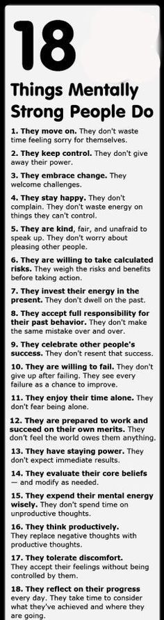 Oh yes!!!! Print this and read it daily!