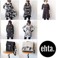 Asennetta Varkaudesta tyyliä printtejä ja kotimaista työtä: Vakiopaineen Kotimaisten pop up su 23.4. on myös yhden päivän ehta.-kauppa  #kotimaistenpopup #linkkibiossa #link #ehtavaatteet #ehta #katikdesign #varkaus #madeinfinland #finnishdesign #mekko #tunika #laukku #dress #bag #black #grey  Kuva: #repost @ehtavaatteet