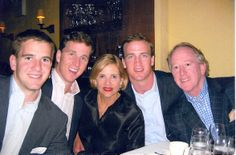 Eli, Cooper, Mama, Peyton, and Archie Manning