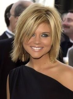 Cute cut. If I had the guts to cut my hair this would be what I would get