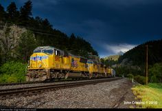 RailPictures.Net Photo: UP 5092 Union Pacific EMD SD70M at Pinecliffe, Colorado by John Crisanti