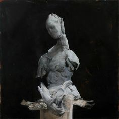 Nicola Samori, Self, 2013, oil on copper
