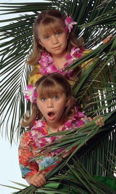 Mary-Kate and Ashley's cutest twin moments.