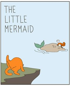 If The Little Mermaid Was A Cat Lady