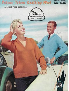 Vintage knitting pattern book | 1963| Patons brand | Australian