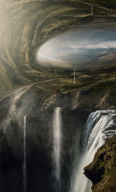 Intriguing Fantasy Worlds by Alper Suzgun – Fubiz Media