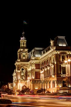 Baku City Hall by Etibar Jafarov
