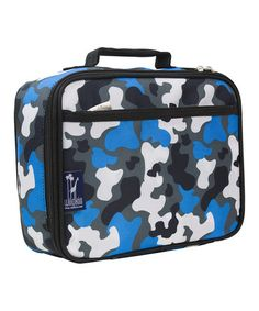 1a64a1a793 Another great find on  zulily! Blue Camo Lunch Box by Wildkin  zulilyfinds  Insulated