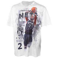Levelwear Kevin Garnett Brooklyn Nets Youth Center Court T-Shirt - White - $7.99