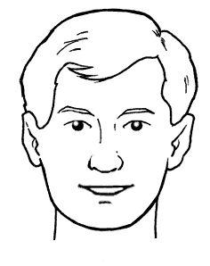 disegno viso colorato per bambino - Cerca con Google