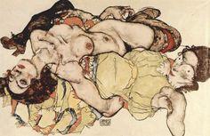 seducción de una menor, Egon Schiele