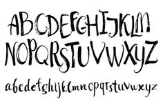 Check out Set of vector alphabet by Nenilkime on Creative Market