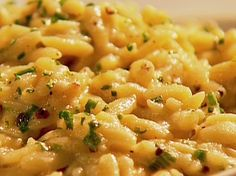 dinner, summer sides, food network, peppers, lemons, orzo recipes, olive oils, lemon pepper, pepper orzo