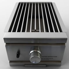 RCS Slide-In Infra Red Side Burner, Natural Gas by RCS - Renaissance Cookings Systems. $499.00. Includes 22,000 BTU burner. For Natural Gas. Ignitor. Includes Stainless Steel Lid. Stainless Steel RCS Infra Red Side Burner for built-in applications. 304 Stainless steel construction, piezo ignitor and cover/lid. Designed to slide-in to a non-combustible outdoor kitchen cabinet installation. 22,000 BTU burner.  Notice - MUST be installed in a non-combustible cabinet for outdoo...