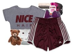 """""""A Boogie - Half on a Baby"""" by renipooh ❤ liked on Polyvore featuring Nordstrom, Alex and Chloe, adidas and Gund"""